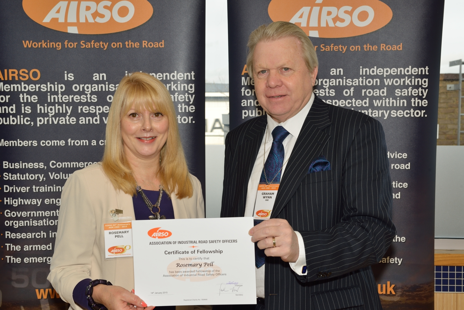 AIRSO Fellowship Award photo